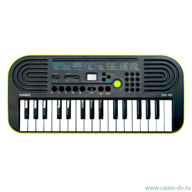 Синтезатор детский Casio SA-46