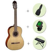 Классическая гитара CORT AC-100 OP + чехол + тюнер + подставка