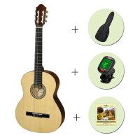 Классическая гитара PARKWOOD PC90 + чехол + тюнер + струны