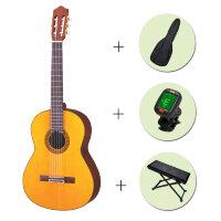 Классическая гитара Yamaha C-80 + чехол + тюнер + подставка