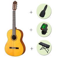 Классическая гитара Yamaha CG122 + чехол + тюнер + подставка