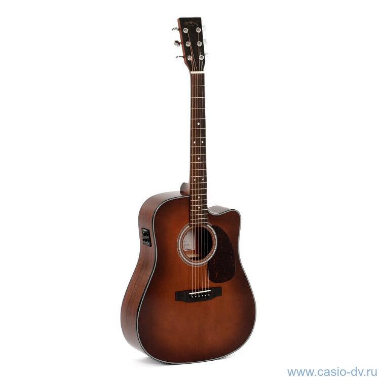 Sigma DMC-1STE-BR Электроакустическая гитара
