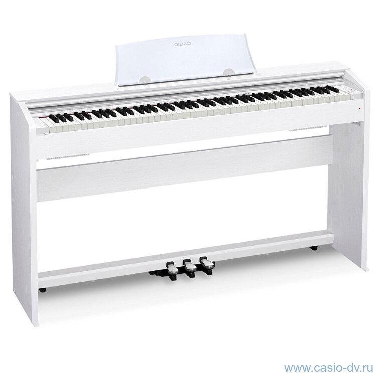 Цифровое пианино CASIO PX-770WE
