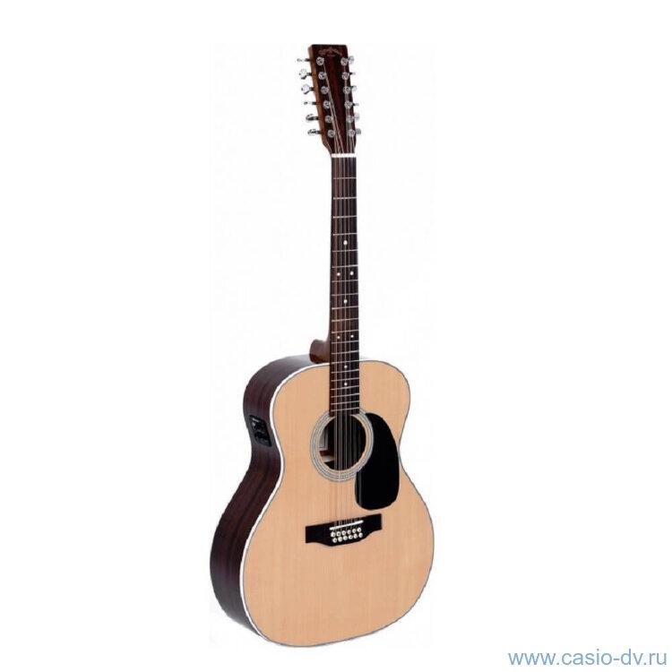 Sigma JR12-1STE 12-ти струнная электроакустическая гитара
